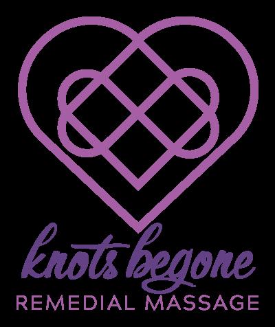 Knots-Begone-Remedial-Massage Colour logo